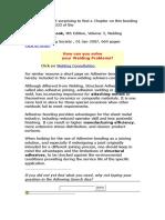 Adhesive Bonding Alternative to Welding