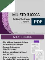 Presentation - MIL-STD-31000_A_Overview - Roy Whittenburg