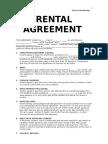 Rental Agreement Template 2