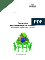 14 Valuation Report Dieter Energy_New 11-04-2016