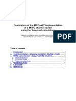 Implementation Note MIMO Matlab