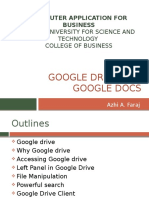 GoogleDrive&Docs