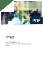 Linux Citrix VDA v1 2 Install Redhat