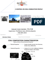 Coal Petrographic Factor on Coal Combustion