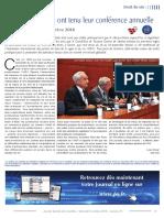FR JOURNAL SPECIAL DES SOCIETES Les Juristes Du Vin Ont Tenu Leur Conférence Annuelle