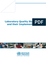 Laboratory Quality Standards
