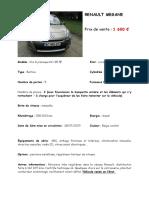 2015-09-08 Ac965dt - Fiche de Vente