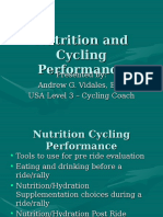 Nutrition and Cycling Performance