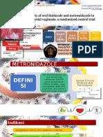 Efikasi Dan Keamanan Tinidazole & Mitronidazole