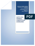 V.3 Updated SAITE 2016 Competition Guidelines