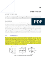 PCA Shear Friction