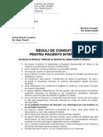 01_regulament Pentru Pacientii Internati