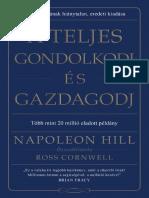 Napoleon Hill - A teljes gondolkodj és gazdagodj