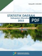 Statistik Daerah Kabupaten Manokwari 2016