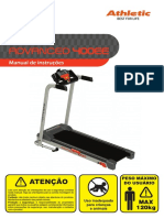 Manual Esteira Athletic 400EE
