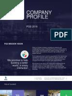PGS Company Profile