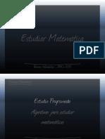 Presentación (Estudiar Matemática)