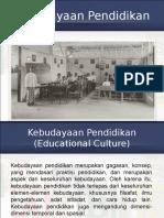 Kebudayaan Pendidikan kelas A JPTE.ppt