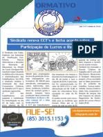 Jornal Sindipan - Maracanaú Setembro 2016