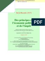 David Ricardo - Des principes de l'économie politique.pdf