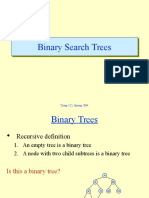 Binarysearch Tree