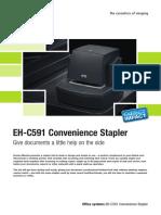Konica Minolta EH-C591 Convenience Stapler Leaflet