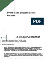 02) La Disciplina Bancaria