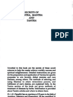 Secrets of Yantra Mantra and Tantra by L R Chawdhri