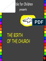 The Birth of the Church English