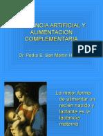 LACTANCIA ARTIFICIAL Y ALIMENTACION COMPLEMENTARIA(1).ppt