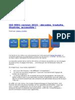 ISO 9001 Version 2015 _décodée, Traduite, Illustrée, Accessible