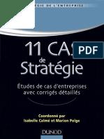 11 cas de stratégie  - Dunod.pdf