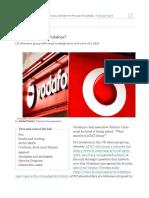 Should AT&T Buy Vodafone