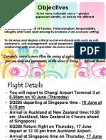NZ Exchange Travelogue Part 1