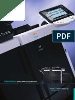 Konica Minolta MFP Bizhub 751 601 Brochure