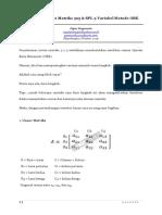 6 Langkah Invers Matriks 3x3 dan SPL 3 Variabel Metode Obe