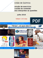 Revisão de Férias - Orvile Carneiro 2016