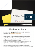 Editoriale per Indesign