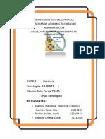 Plan Estrategico Restaurant Misty Gerencia Estrategica Docx 1 1