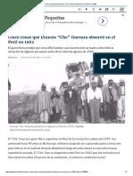 """Cinco Cosas Que Ernesto """"Che"""" Guevara Observó en El Perú en 1962"""