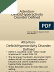 ADHD 2012