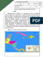 Prova Geografia Adaptada_3 Bimestre_America Central