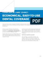 Cigna Dental Care Economical Easy to Use Dental Coverage