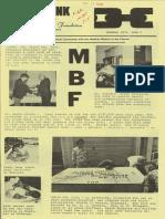 Medical Benevolence Foundation newsletter, December 1973