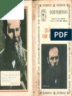 Diário de Um Escritor  - Fiódor M Dostoiévski