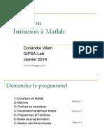 Formation Matlab GIPSA 2013