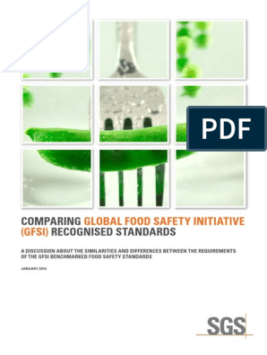 Comparing Global Food Safety Initiative (GFSI) Recognized