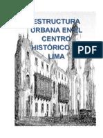 ANALISIS CENTRO HISTORICO DE LIMA