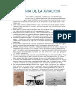 Historia de Aviacion