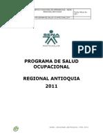 ProgramaSaludOcupacionalSENARegionalAntioquia 20111.Doc